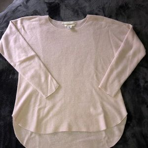 Max Studio 100% Cashmere Sweater Blush Pink SZ L